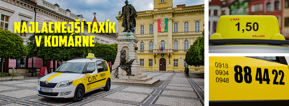 banner s taxikom namestie a bannery 2
